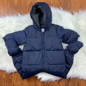 GAP NAVY ONE PIECE WINTER COAT